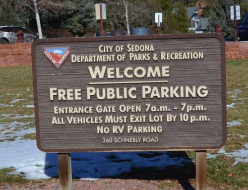 Sedona Parking Meters Temporarily Turned Off
