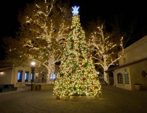View Sedona's Annual Christmas Tree Lighting at Tlaquepaque North